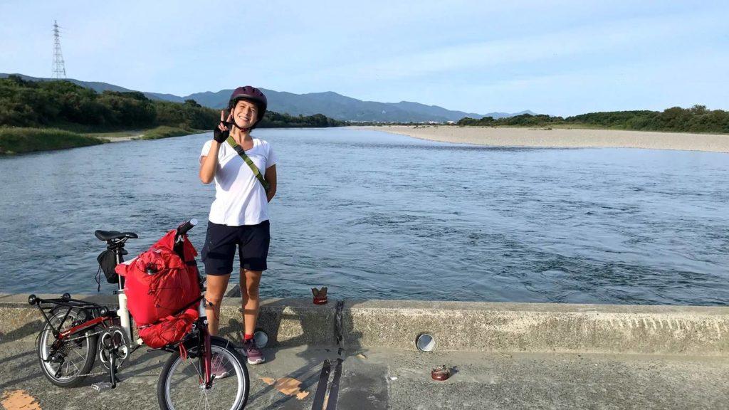 ポタリング遍路 吉野川 潜水橋