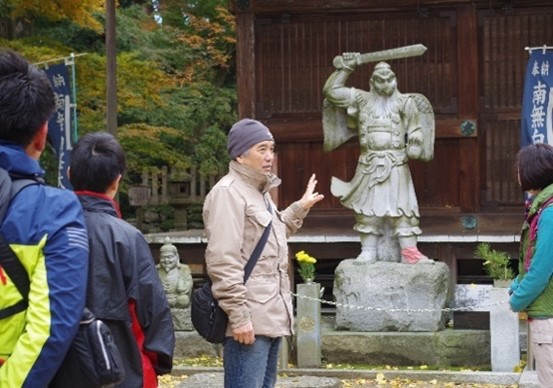 内田一成 五色台レイラインガイドツアー